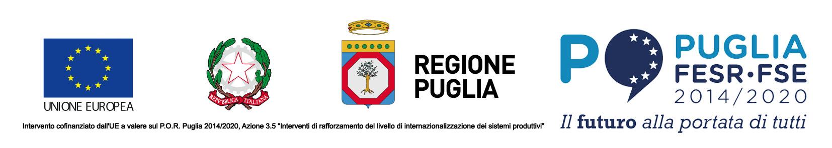 Rocalia Expo Lione 2019 Loghi Regione Puglia